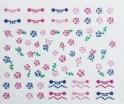 China Facial Oils 3D Nail Art Stickers-Roses & Lace on sale