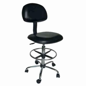 China YP-C010 High Quality Black leather office chair/ESD Leather Chair/Antistatic Chair on sale