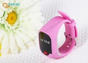 China Mini Safety Kids Cell Phone Watch , Watch Tracking Device For Child / Elderly on sale