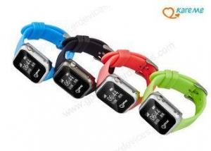 China Waterproof Smart Child GPS Watch / Kids GPS Tracker Watch With Geo Fence Alarm on sale