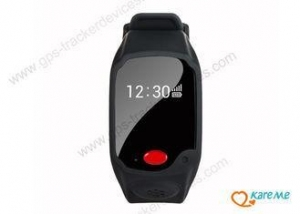 China Safe Waterproof GPS Watch Tracker Locator For Children / Elders With UBLOX Chip on sale