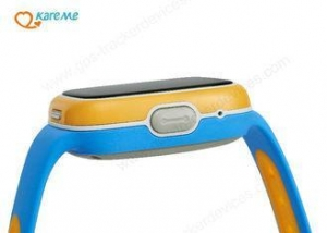 China Touch Screen Heart Rate Monitor GPS Watch , Small Gps Tracking Device For Children on sale