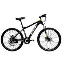 "Mountain Bike 26"" 24 Speed Folding Mountain Bike Bicycle Shimano Hybrid Suspension For Big Sale"