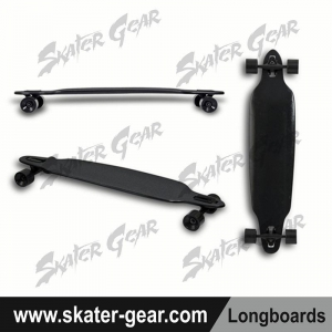 China SKATERGEAR 41.5*9.5 freeride drop through maple longboard Product No.:SG-LB50 on sale