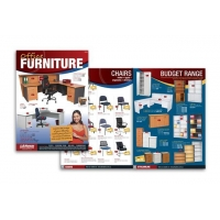 XMT-C013 furniture products catalog printing with good quality