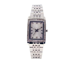 China wholesale fashion ladies stainless steel square watch on sale