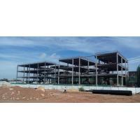 China steel framing building Three Floors Steel Frame Office Building on sale