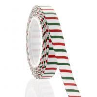 Christmas Stripe Printed Grosgrain Ribbon NO.: CRB-002
