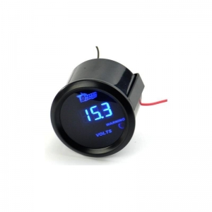 China Digital Auto Voltage Gauge LED Display 2 52mm Meter on sale