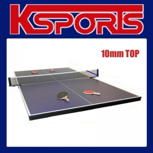 China TABLE TENNIS PING PONG TABLE 10MM TOP / POKER TOP on sale
