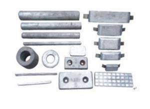 China Zinc Anodes Zinc alloy sacrificial anode for ship on sale