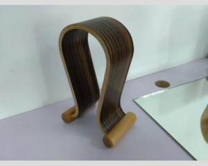 China Headphone stand Wood headphone on sale