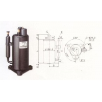 China Samsung air conditioner compressor R22 115V 60Hz on sale