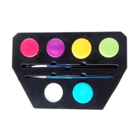 China Colors Face Paint Make up Set Water-based washable Face Painting Kit on sale