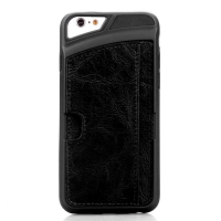 New arrival Leather and TPU card Slot custom iphone case