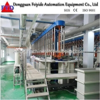 Feiyide Automatic Climbing Zinc / Galvanizing Rack Plating Production Line For Metal Parts