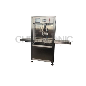 China Assembly Line Ultrasonic Pizza Cutting Equipment Ultrasonic Food Slicing Machine on sale