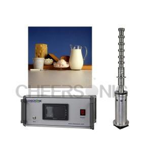China Ultrasonic Food Emulsifying Dairy Emulsion Processing Machine on sale