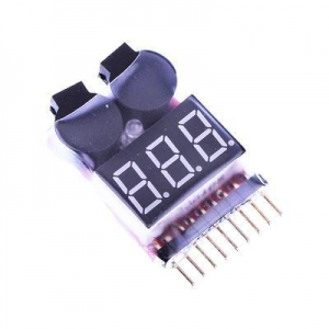 China 1--8S Lipo Battery Voltage Alarm on sale