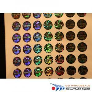 China tamper evident security labels OEM Security Laser Label on sale