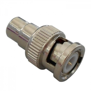 China rca male to rca female adapter CCTV BNC Male To RCA Female Connector (CT5048) on sale