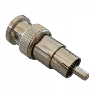 China bnc male to rca male cable CCTV Security BNC Male To RCA Male Connector (CT5057) on sale