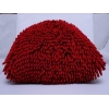 China chemille pillow for sale