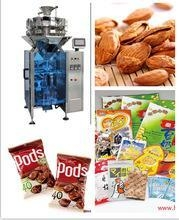 Quality coffee beans, pet food, small hardware weighing and packing 2 in 1 machine for sale