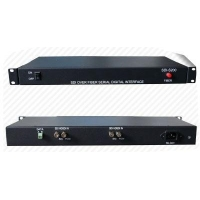 2 Ch SDI optical fiber media converter
