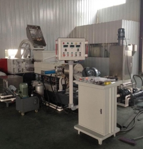 China biodegradable plastic pellets making machine on sale