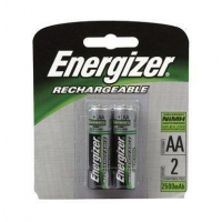 Energizer Rechargeable Batteries Size AA Blister Pack 2
