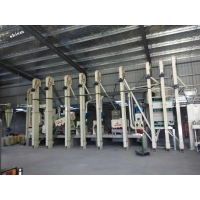 China 40T Complete set rice processing equipment on sale