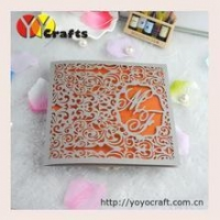 China free logo various color and size resonable price laser cut wedding cake boxes customized on sale