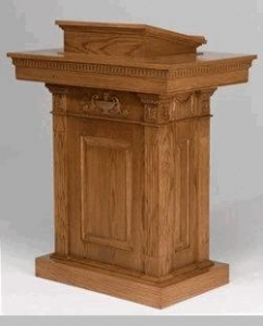 China folding chairs 8201 Pedestal Pulpit on sale