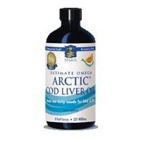 Arctic Cod Liver Oil - Peach Flavor