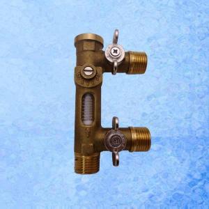 China USC-MS21TB 2-8L/Min Flow Meter Balancing Valve and Replenishing Valve on sale
