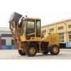 China Self-loading mobile concrete mixer for sale
