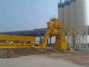 Quality MHZS50 Free foundation concrete batching plant for sale