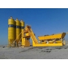 China MHZS40 Free foundation concrete batching plant for sale