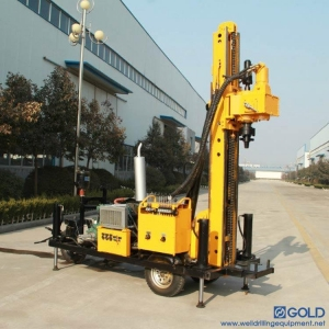 China GD100 water well drilling equipment for sale on sale