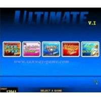 Game board new arrival- Ultimate ( 5 IN 1 )-V.1 Book of Ra Deluxe games multi game pcb