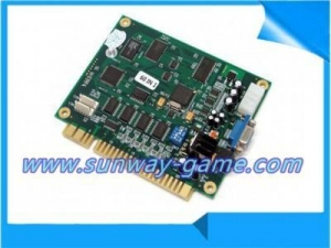 China Classic 60 In 1 Vertical Multi Arcade Game JAMMA Board CGA / VGA Output MAME on sale