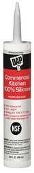 China Sealant 9.8 oz Stainless Steel DAP NSF COMMERCIAL KITCHEN SILICONE 8660 on sale