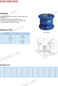 China PN16 SILENT CHECK VALVE on sale