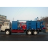 China Integrated truck-mounted well liquid treater for sale
