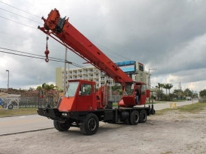 China USED 1990 LORAIN MCH275D ALL TERRAIN CRANE FOR SALE IN MIAMI, FL on sale