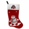 China Evergreen Enterprises 60101SC 24 in. Ohio State Snowman Fabric Stocking for sale