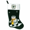 China Evergreen Enterprises 60031SC 24 in. Green Bay Packers Snowman Fabric Stocking for sale