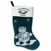 China Evergreen Enterprises 60043SC 24 in. Philadelphia Eagles Snowman Fabric Stocking for sale