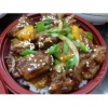 China Sweet Sour Ribs with Rice Bento for sale